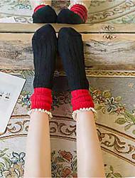Women's Hosiery Ultra Warm Socks,Wool Multi Color 2pcs Navy Blue Black