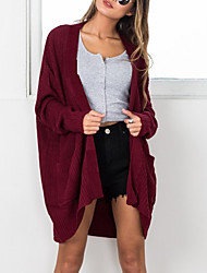 cheap -Women's Vintage Long Sleeves Long Cardigan - Solid
