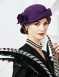 cheap -Wool Hats 1 Wedding Party / Evening Headpiece