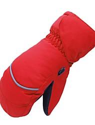 Недорогие -Лыжные рукавицы Детские Рукавицы Сохраняет тепло Водонепроницаемость Катание на лыжах На открытом воздухе Зима