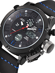 Недорогие -BIDEN Муж. Кварцевый Наручные часы Японский Календарь Защита от влаги Кожа Группа Роскошь Винтаж На каждый день Мода Черный