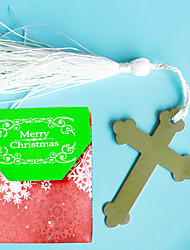 Cross Bookmark in Merry Christmas Favor Bag Beter Gifts®Birthday Keepsakes