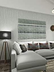 abordables -Géométrique Décoration d'intérieur Moderne Revêtement, PVC/Vinyl Matériel adhésif requis fond d'écran, Couvre Mur Chambre
