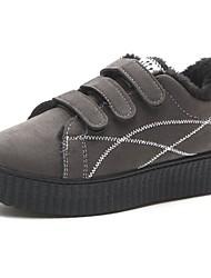 baratos -Feminino Sapatos Borracha Inverno Conforto Botas de Chuva Tênis Ponta Redonda Para Preto Cinzento