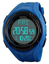 abordables -SKMEI Homme Numérique Montre numérique / Montre Bracelet / Montre de Sport Japonais Alarme / Calendrier / Chronographe / Etanche /