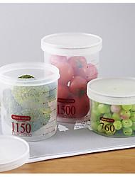 1pcs Køkken Plastik Opbevaring af fødevarer