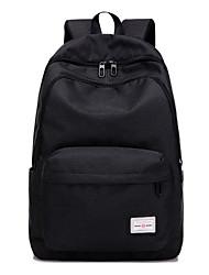 cheap -Men Bags Canvas School Bag Zipper for Outdoor All Season Blushing Pink Dark Blue Dark Grey Light Grey Sky Blue