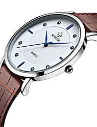 levne -WWOOR Pánské Náramkové hodinky Hodinky k šatům Módní hodinky Hodinky na běžné nošení Křemenný Žhavá sleva Kůže Kapela Na běžné nošení