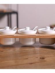 cheap -1pcs Kitchen Bamboo Ceramic Cabinet Accessories