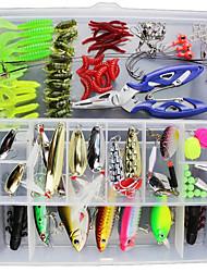 economico -1 pz esca pacchi g / once mm pollici, plastica mare esca da pesca casting spinning jigging richiamo di pesca pesca pesca generale