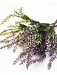 economico -35 cm 2 pezzi 20 testa / ramo frutto fortunato decorazione della casa erba artificiale