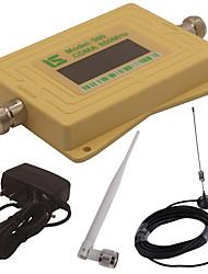 mini display lcd inteligente cdma980 850mhz repetidor de sinal de sinal de telefone celular com antena de otário ao ar livre / antena de