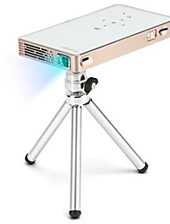 cheap -Factory OEM P8S DLP Mini Projector 100 lm Support 1080P (1920x1080) 40-120 inch Screen