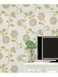Mønster Baggrund Til hjem Moderne Vægbeklædning , Ikke vævet tekstil Materiale Lim påkrævet tapet , Værelse Tapet