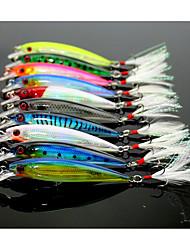 10 Stk. Blink Elritse g/Unse mm Tommer Flue Fiskeri