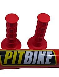 baratos -universal mini motocross poço de sujeira bolso bolso de bicicleta alças de barra protetor de almofada de barra