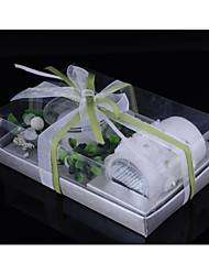 Недорогие -Сад Цветы Бабочки Свечи сувениры - 1 Воск 1 комплект/пластиковый пакет