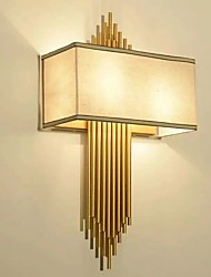 cheap -Ambient Light Wall Sconces 3 E14 E12 Simple Modern/Contemporary Electroplate For