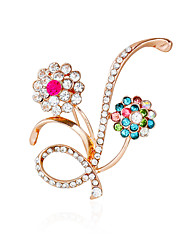 cheap -Women's Others Rhinestone Brooches - Basic Gold Brooch For Wedding / Party