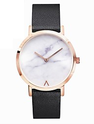 cheap -Men's Women's Fashion Watch Wrist watch Unique Creative Watch Chinese Quartz Chronograph Stainless Steel Leather Band Cool Elegant