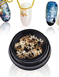 Недорогие -1 гвоздь художественное украшение стразы жемчуг гвозди ювелирные изделия металлический блестящий рождественский дизайн ногтей