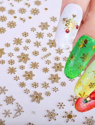 Недорогие -12 Наклейки 3D-стикеры для ногтей Инструменты сделай-сам Другие украшения Мода Повседневные Высокое качество