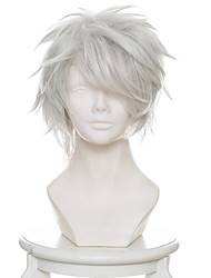 cheap -Cosplay Wigs 12 Wars / Juni Taisen Usagi / Rabbit Anime Cosplay Wigs 33 CM Heat Resistant Fiber Male