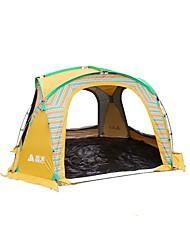economico -Sheng yuan 5-8 persone Tenda Singolo Tenda da campeggio Una camera Tende da campeggio formato famiglia Ripiegabile per Pesca Campeggio e