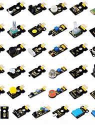 cheap -Keyestudio37 in 1 Sensor Kit(37Pcs Sensors)for Arduino Starter Kit37ProjectsPDFVideo(Works with Official Arduino