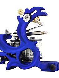 cheap -Coil Tattoo Machine Stamping Liner and Shader Cast Iron Professional Tattoo Machine