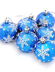 6pcs Christmas Decorations Christmas OrnamentsForHoliday Decorations 18*6*12