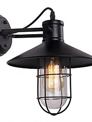 cheap -1pc Anmytek Wall Light Fixture E27 Industrial Retro Rustic Loft Antique Wall Lamp without Light AC110V-220V