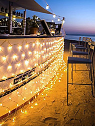 cheap -96 LEDs 1.5M x 1.5M LED Net String Light 8 Modes For Christmas Wedding Holiday Decoration