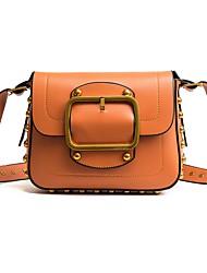 cheap -Women Bags PU Crossbody Bag Beading for All Season White Black Red Dark Green Brown