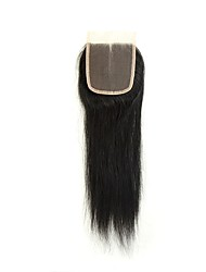 cheap -Remy Brazilian Natural Color Hair Weaves Straight Hair Extensions 1pc Black