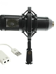 KEBTYVOR BM800 WiredMicrophoneSets Computer Microphone Condenser Microphone
