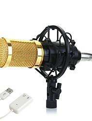 Недорогие -KEBTYVOR BM800 Проводное Микрофон наборы Конденсаторный микрофон Ручной микрофон Назначение ПК