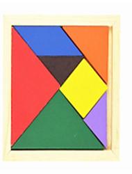 Недорогие -Китайская геометрическая головоломка Деревянные пазлы Игрушки Геометрической формы Семья Школа/выпускной Для школы Классика Куски