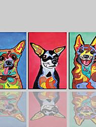 キャンバスプリント コンテンポラリー クラシック 田園風 近代の,3枚 キャンバス 縦式 プリント 壁の装飾 For ホームデコレーション