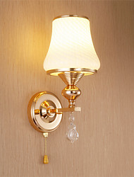 cheap -Tiffany Rustic/Lodge Retro / Vintage Modern/Contemporary Traditional/Classic Country Wall Lamps & Sconces For Metal Wall Light 110-120V