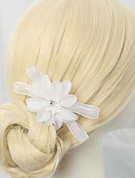 economico -pettini in lega di chiffon fiori 1pc copricapo classico stile femminile