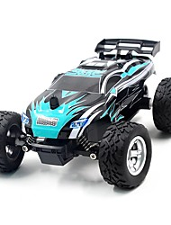 Coche de radiocontrol  K24-1 2.4G Truggy Alta Velocidad 4WD Drift Car Buggy Todoterreno Monster Truck Bigfoot Carro de Carreras 1:24