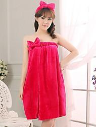 economico -Da donna Vestaglie Pigiami Cotone Poliestere Solidi Rosso Rosa Fucsia