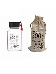 Desportos e Ar livre Escritório / Carreira Artigos para Bebida, 300 Vidro de boro alto Suco Leite Água Vidro