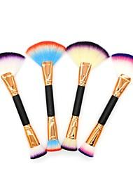 billige Rougebørster-1pc Makeup børster Profesjonell Rougebørste Nylon Børste / Syntetisk hår / Andre Profesjonell / Myk / Full Dekning Tre