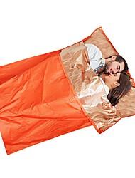Недорогие -Subito® Спальный мешок Чрезвычайная Одеяло Прямоугольный 26°C Водонепроницаемость Дышащий сохраняющий тепло Теплоизолированные Защита от