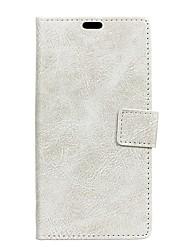 preiswerte -Hülle Für Motorola G4 Plus Geldbeutel Kreditkartenfächer mit Sichtfenster Flipbare Hülle Handyhülle für das ganze Handy Volltonfarbe Hart