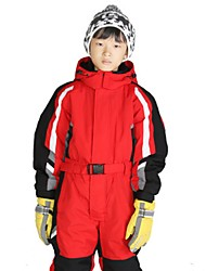 cheap -Kid's Ski Suit Warm Waterproof Windproof Wearable Breathability Snow sports Velvet Chiffon
