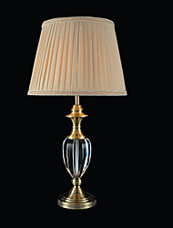economico -Moderno/Contemporaneo Pretezione per occhi Lampada da tavolo Per Camera da letto Sala studio/Ufficio Cristallo 220V Giallo scuro