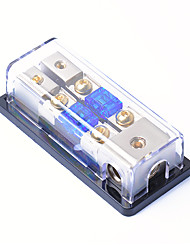 cheap -2 Way 4 Gauge In to 8 Gauge Out Mini ANL Fuse Block w Fuses